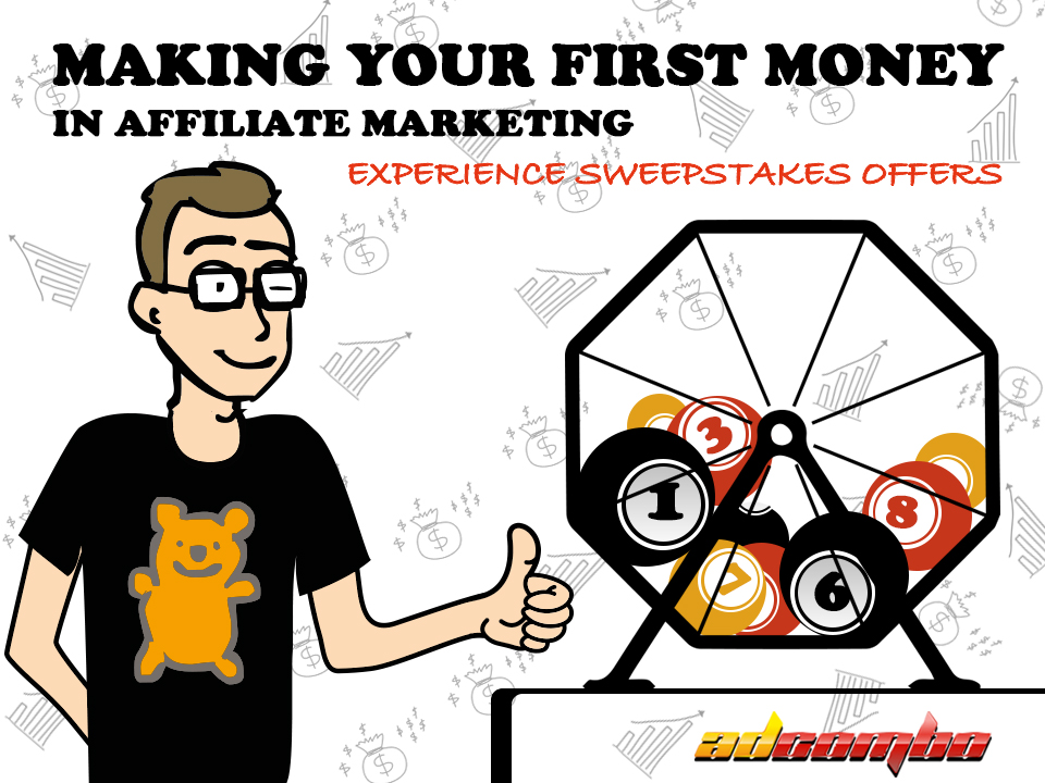 How to earn money on sweepstakes offers - AdCombo CPA