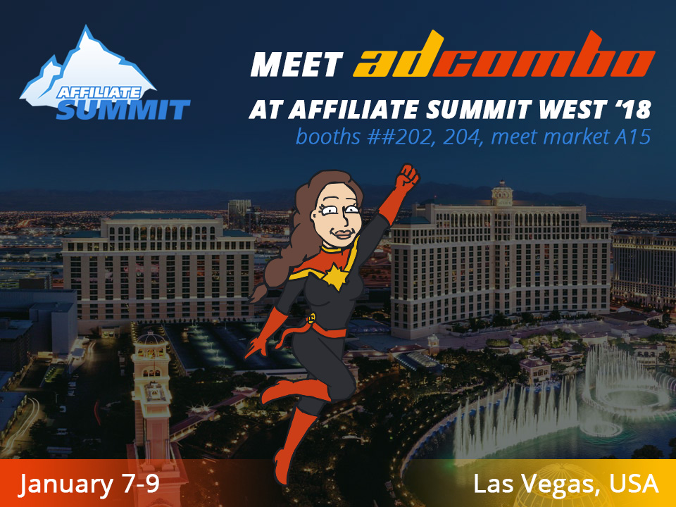 ADCOMBO IS A SILVER SPONSOR AT AFFILIATE SUMMIT WEST 2018 | AdCombo